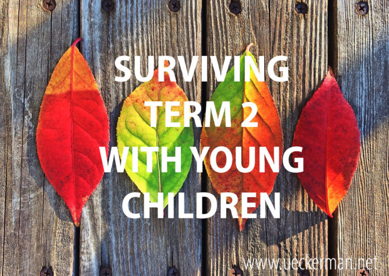 Surviving Term Two with Young Children